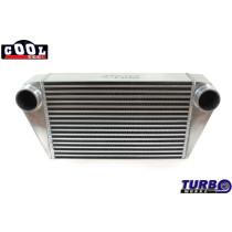 Intercooler TurboWorks 500x300x102 hátsó kivezetéssel